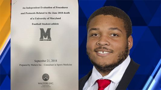 Report finds UMd. culpable in death of Jordan McNair