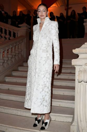 Um, Did Gigi Hadid Just Wear the Chicest White Dress of All Time?