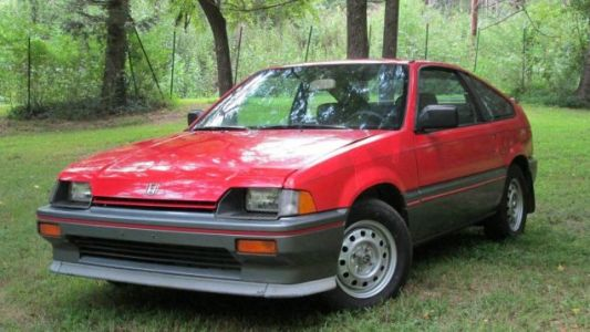 At $3,850, Could This 'Adult-Owned' 1985 Honda Civic CRX Bring Out The Kid In You?