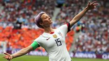 Megan Rapinoe Is Sports Illustrated's 'Sportsperson Of The Year'