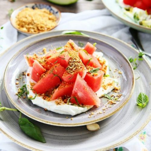 Watermelon and Labneh Salad