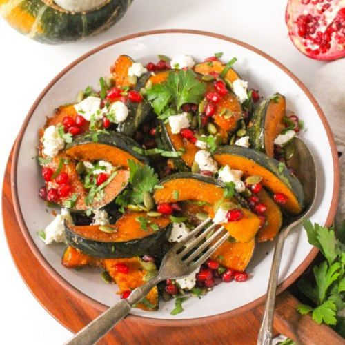 Buttercup Squash with Goat Cheese