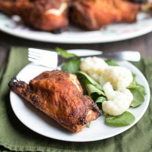 Baked Chicken Drumsticks and Thighs