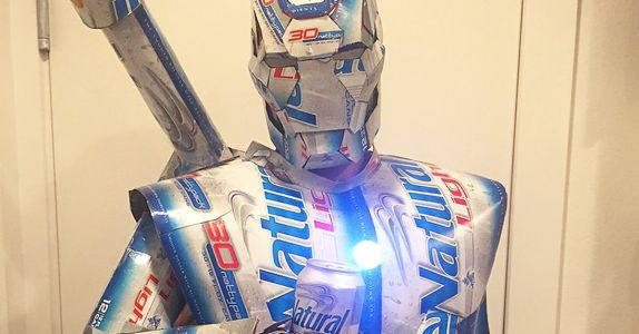 Get Lit With These DIY Natty Light Halloween Costumes