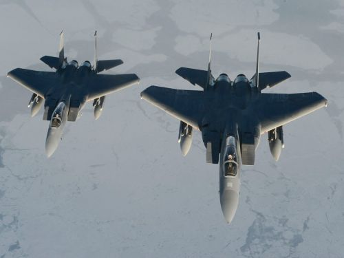 Why didn't the F-15Cs shoot down the stolen airliner out of Seattle?