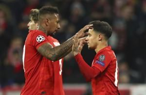 Bayern beats Tottenham 3-1, wins all its group games in CL