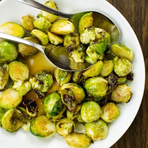 Brussel Sprouts with Balsamic
