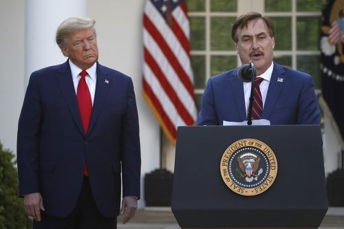 Trump has been nudging MyPillow CEO Mike Lindell to run for office