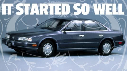 It's Infiniti's 30th Anniversary So Let's Remember When It Had A Vision