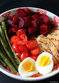 Hot Chicken And Vegetable Salad