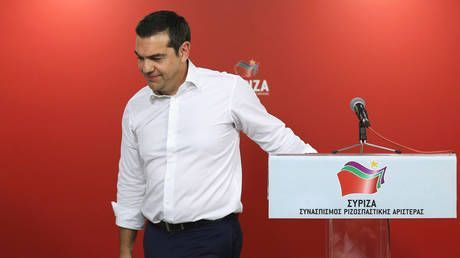 Left-wing Greek PM Tsipras calls for snap elections after party takes beating at EU & home polls