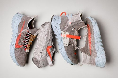 Nike's Space Hippie Collection Repurposes Scrap Material From Factory Floors