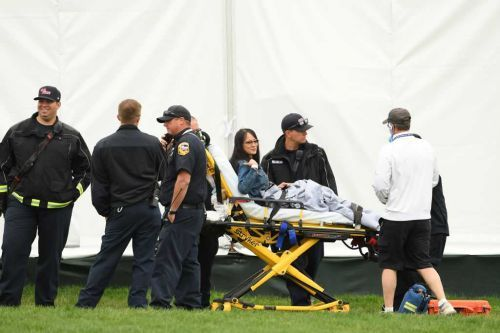 5 people injured by runaway cart at US Open, officials say