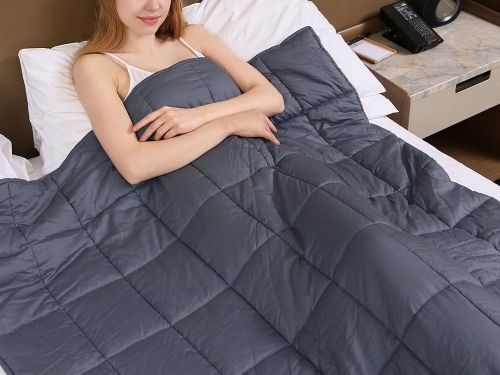 I've been sleeping with this weighted blanket for 6 months, and I've noticed a huge change in the quality of my sleep