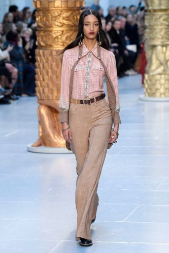 The Chloe PFW Fall/Winter 2020 Runway Has Me Ready to Look Horse Girl Chic