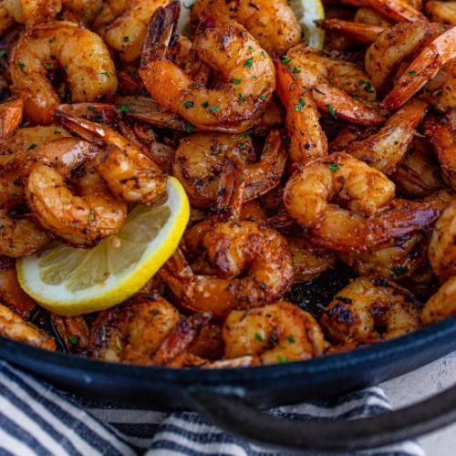 Blackened Shrimp On The Grill