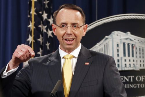Rosenstein denies that he proposed secretly taping President Trump