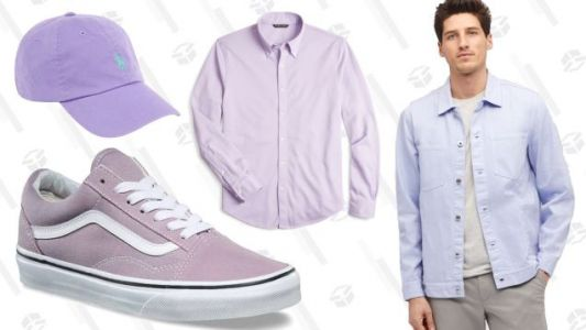 Hey, Guys.Wear Lavender This Spring