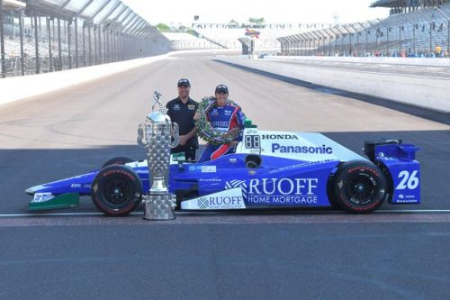 There's A $380,000 Bonus From Borg Warner Waiting For Takuma Sato In Victory Lane At The Indy 500