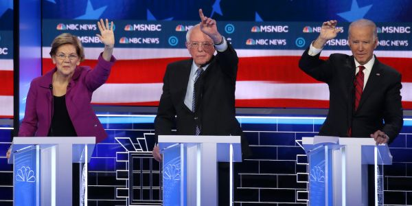 Here are the winners and losers of Nevada's heated Democratic debate, where Michael Bloomberg was skewered and Elizabeth Warren schooled the stage