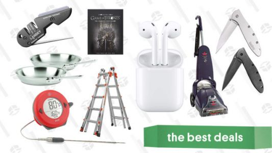 Thursday's Best Deals: All-Clad Pans, Airpods, Anker Speakers, and More
