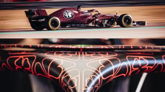 Alfa Romeo F1 Just Needs to Run Its Valentine's Day Livery All Year