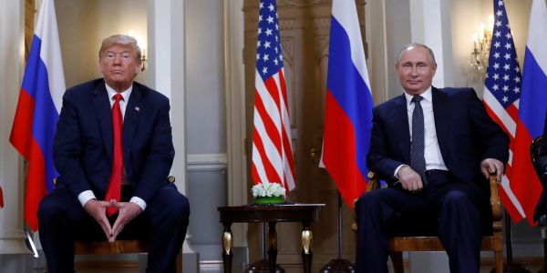 Former CIA director asks what Trump is 'hiding' by meeting with Putin alone