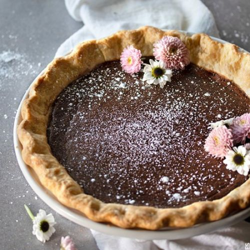 Mexican Chocolate Pie