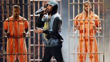 Meek Mill Condemns Racial Injustice With Powerful 2018 BET Awards Performance