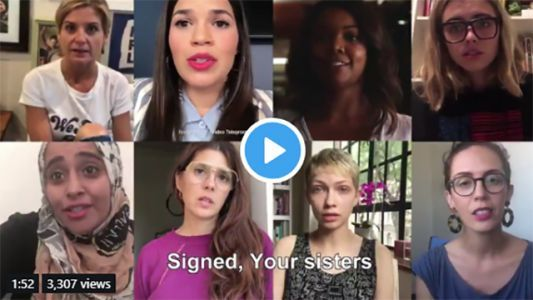 'Millions of us have your back:' Women make video in solidarity with Christine Blasey Ford