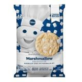 Pillsbury's New Marshmallow Cookies Are 1 Drizzle of Chocolate Away From a S'more
