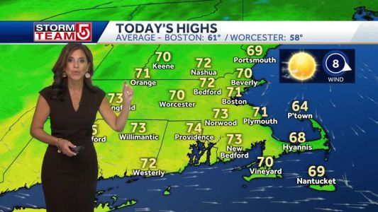 Video: Sunny day with temps in 70s