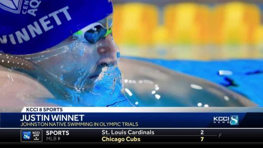 Former Johnston state swimming champion to compete in the Olympic trials