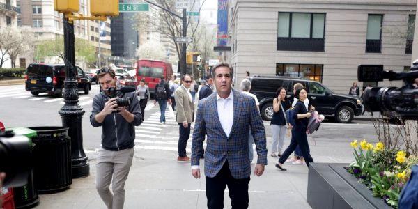 Trump has reportedly described his embattled lawyer and 'fixer' Michael Cohen as a 'bull in a China shop'