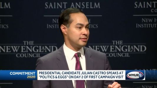 In NH, Castro says he wants to make US healthiest, fairest nation