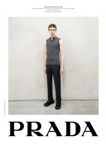 Prada's Up for Auction with Fall '20 Campaign