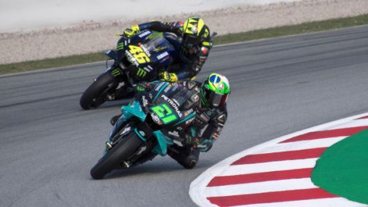 Franco Morbidelli Takes First Ever MotoGP Pole In Barcelona, Valentino Rossi Signs For 2021