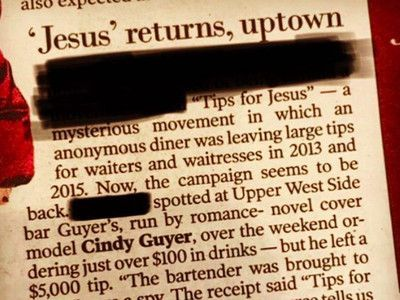 Tips for Jesus Identity Confirmed After Latest Mega-Gratuity