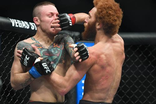 UFC Nashville results: Luis Pena outworks a durable Steven Peterson over three rounds