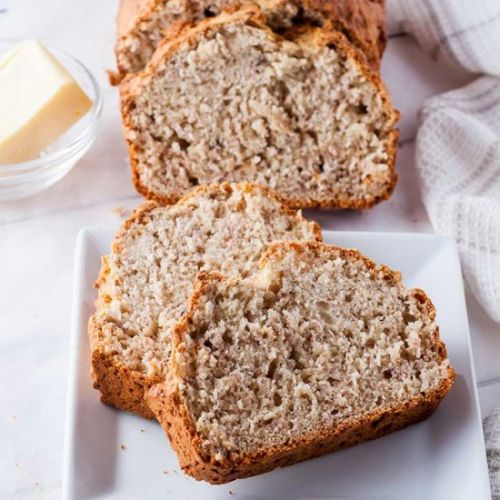 One Bowl Basic Banana Bread