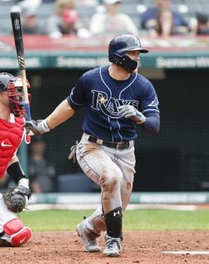 Meadows goes 4 for 4 with leadoff HR, Rays top Indians 6-3