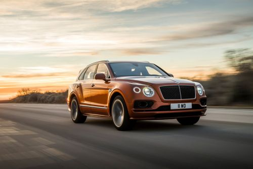 "Bentley Launches Bentayga Speed, ""The World's Fastest, Most Luxurious SUV"""