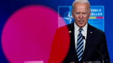 Ukraine getting into NATO waiting room 'remains to be seen' says Biden, after Zelensky claimed it was 'confirmed'