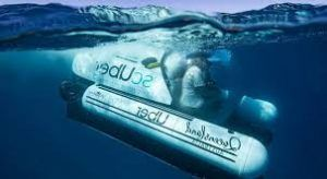 ScUBer, world's first rideshare submarine by UBER
